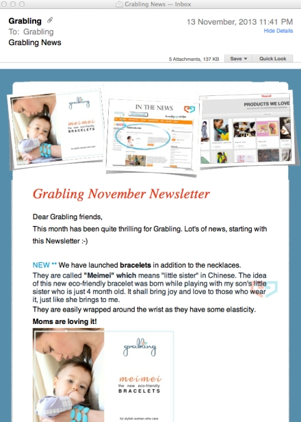 grabling newsletter launched_nov2013