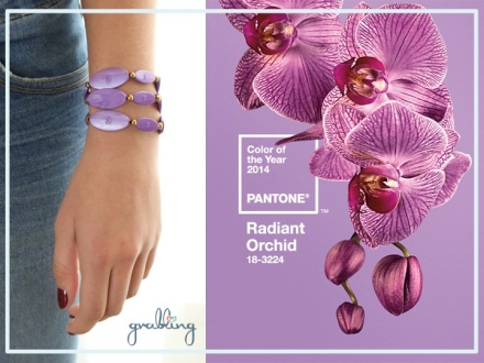 we are always on trend! #RadiantOrchid